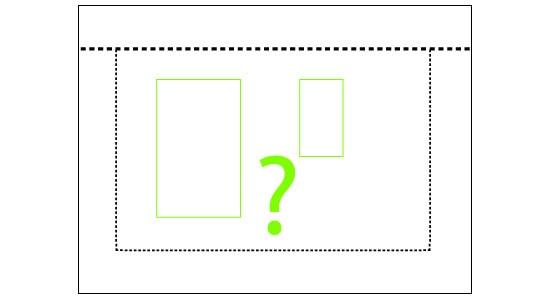 piktogram plassering av bolig på tomt