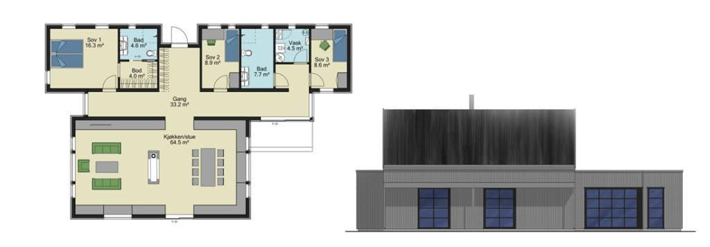 fasader og planer