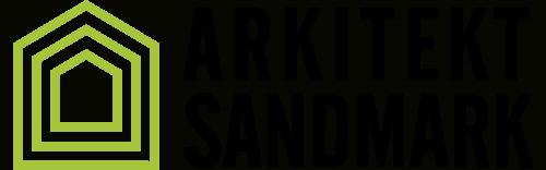 Arkitekt Sandmark AS sin logo