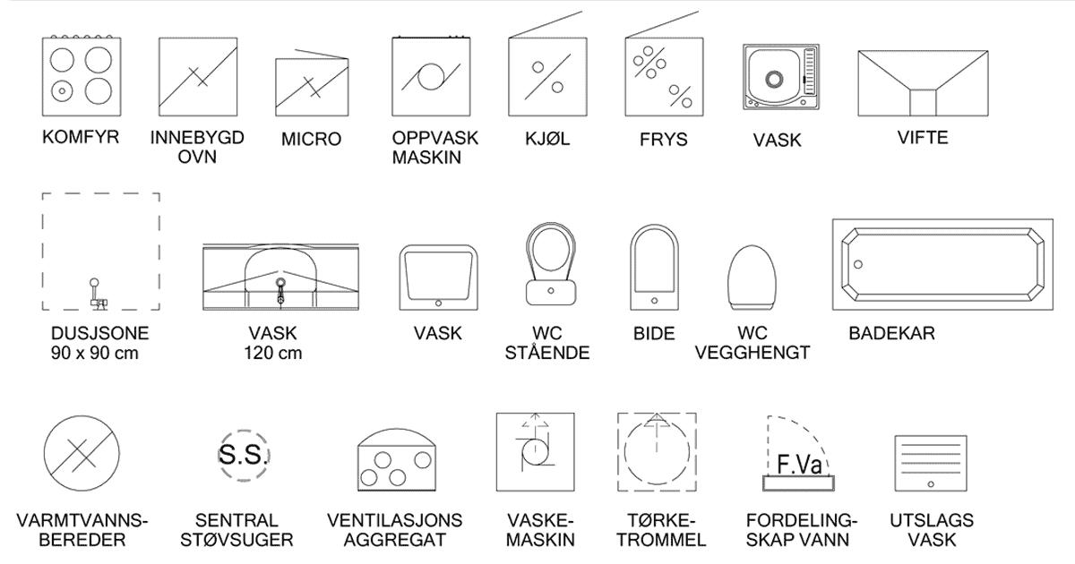 tegninger laget av arkitekt sandmark i trondheim