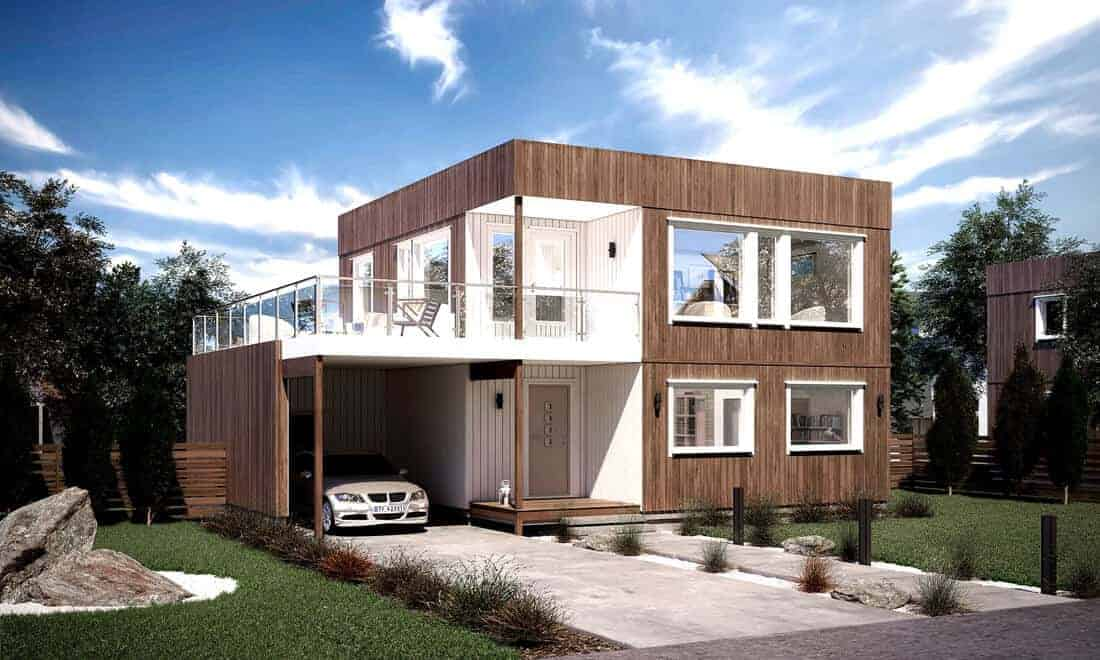 Hva er dette? Terrasse, balkong, veranda eller altan
