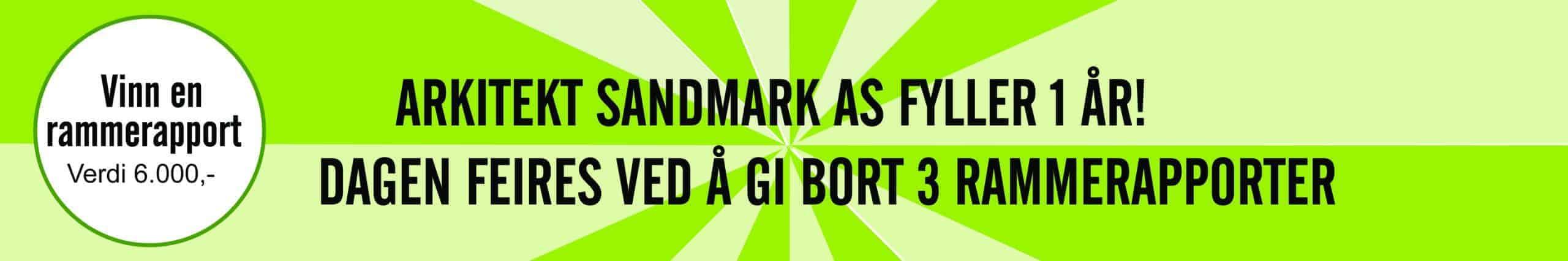 Kampanje hos Arkitekt Sandmark AS